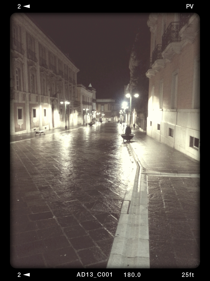 Benevento night time 21 gennaio