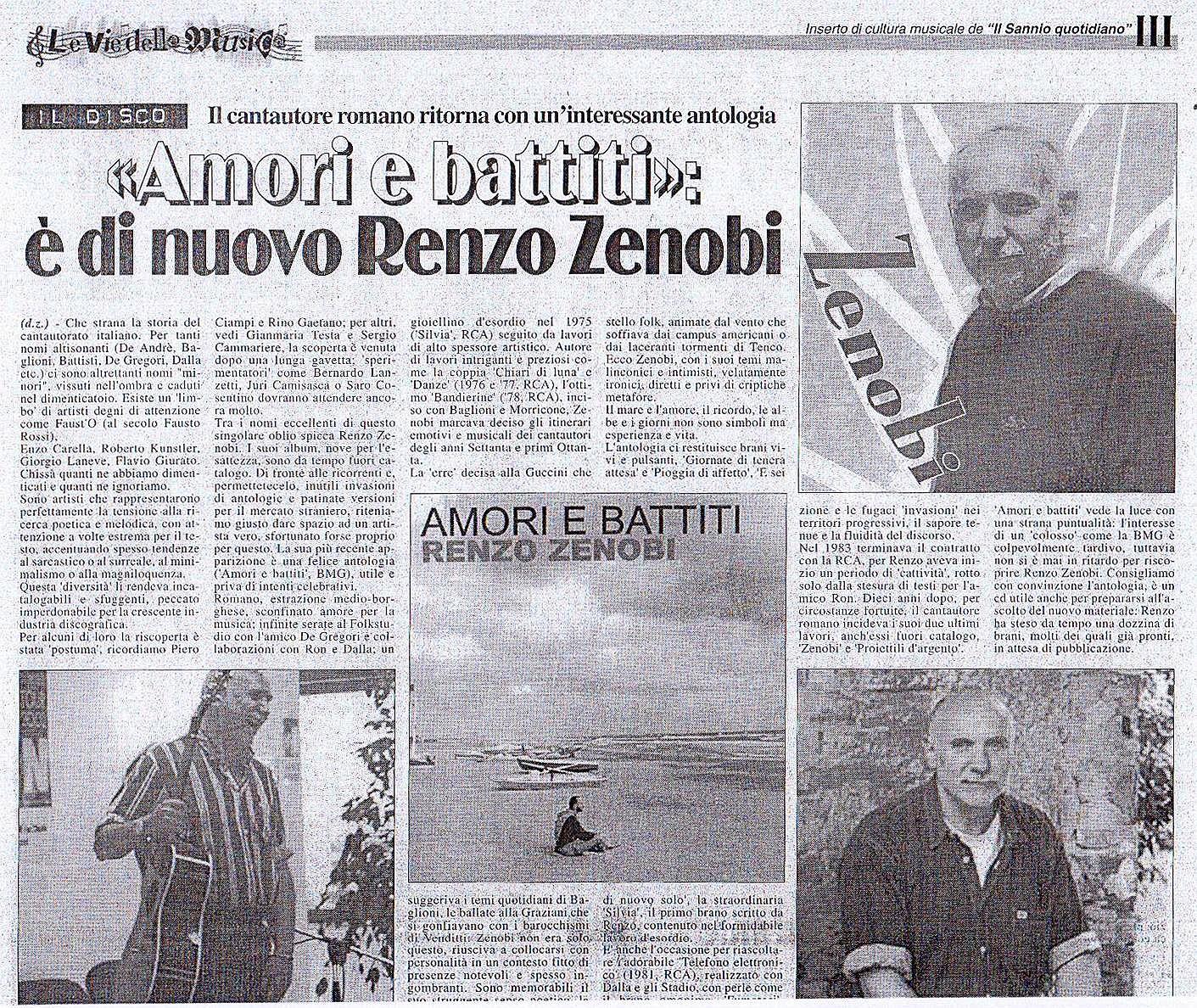 VDM 14 marzo 2003 Zenobi