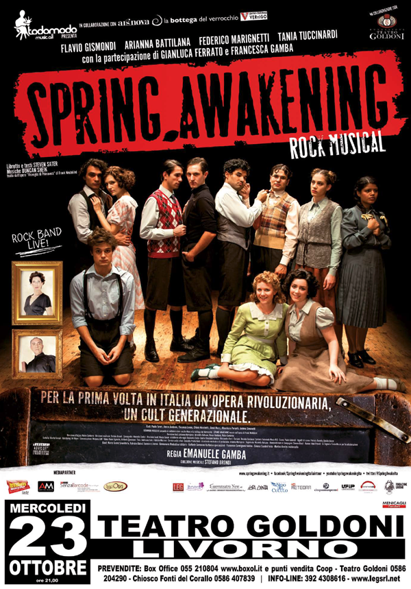 Spring manifesto Livorno