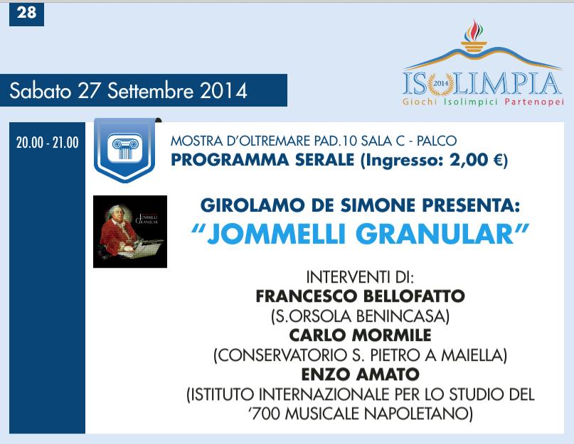 Girolamo 27 settembre