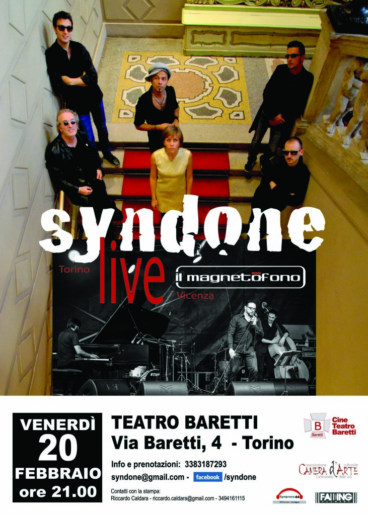 Syndone Baretti 20 febbraio