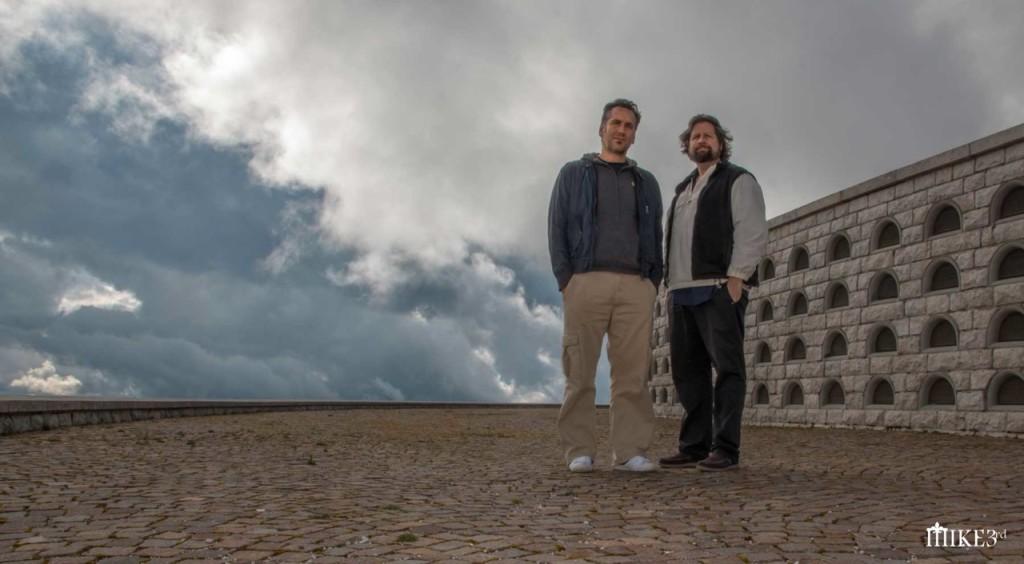 Mike 3rd e Ronan Chris Murphy