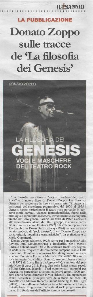 Genesis_IL Sannio Quotidiano 14 gennaio 2016